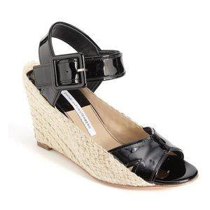 Diane von Furstenberg Sudan Leather Espadrille